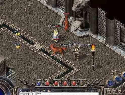 远古刚开一秒韩版传奇的废墟怎么走远古废墟地图攻略
